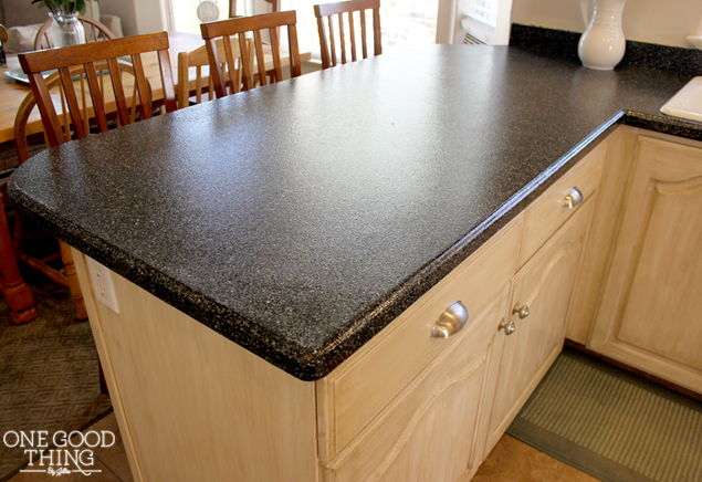 Kitchen Cabinet and Countertop Transformation In A Box! - One Good ...