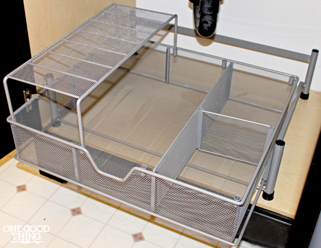 Under The Bathroom Sink Makeover In 5 Easy Steps 183 One