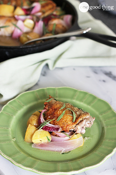 Skillet Chicken and Potatoes