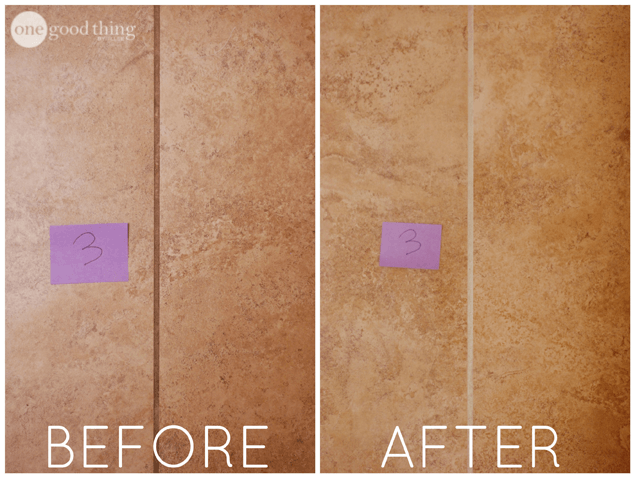 The Best Way To Clean Grout 183 One Good Thing By Jillee