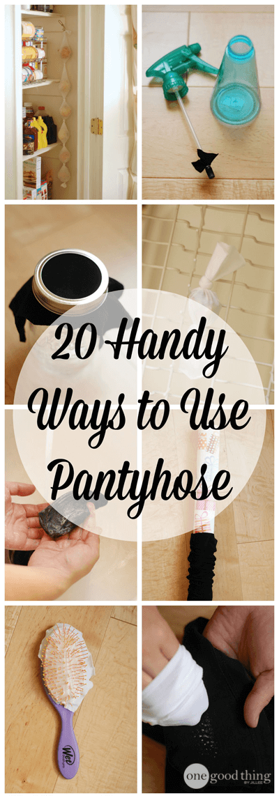 20 Handy Ways to Use Pantyhose